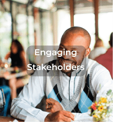 engaging stakeholders